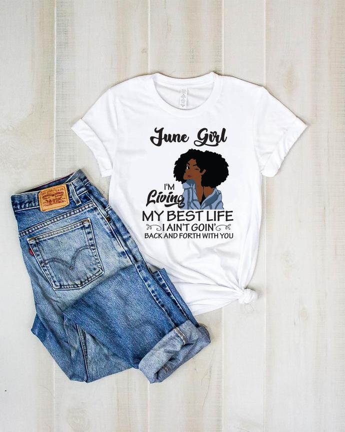 June girl, girl svg,born in June, Birthday girl svg, June birthday svg, gift for