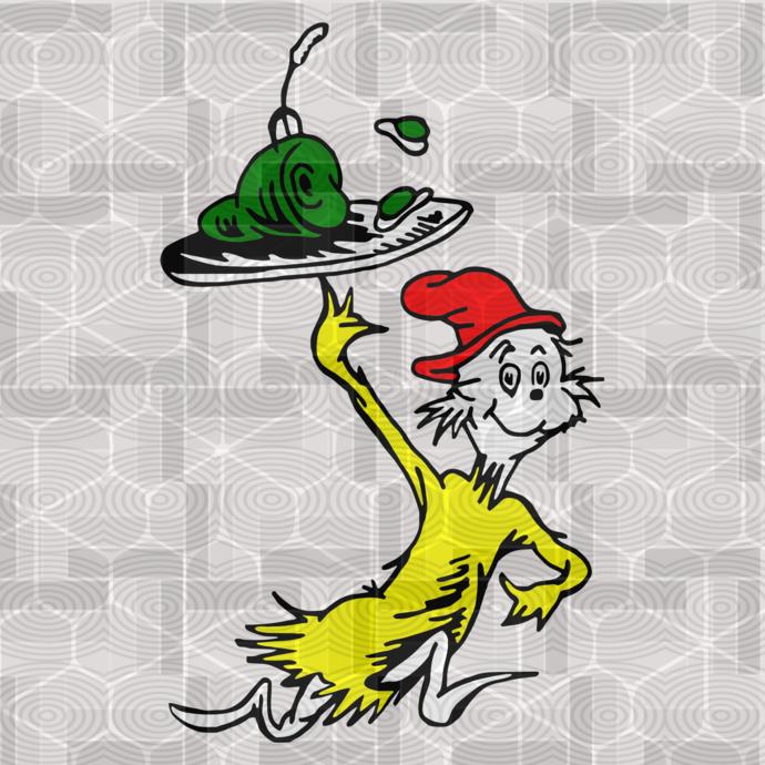 Dr Seuss Sneech SVG 1, svg, dxf, Cricut, Silhouette Cut File, Instant Download