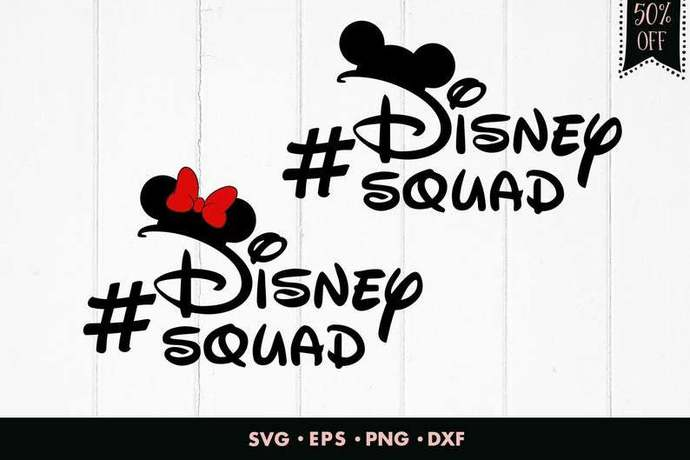 Disney squad svg, Squad svg, Mickey mouse svg, Mickey svg, Minnie mouse svg,