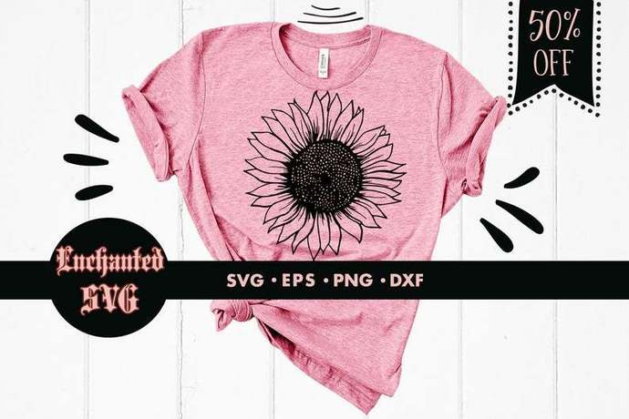 Sunflower svg, Sunflowers svg, Laurel svg, Flower svg, Floral svg, Wreath svg,