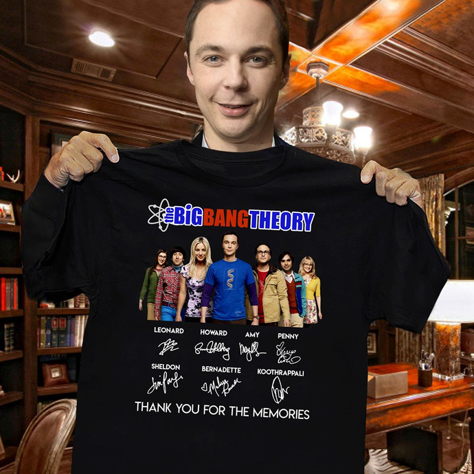 The Big Bang Theory, Thank You For The Memories Shirt