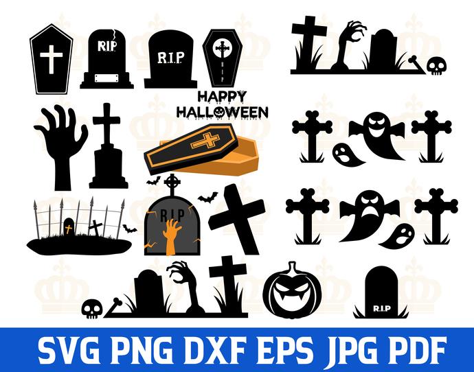 Halloween SVG,Halloween Tomb svg,Halloween Ghost svg,Halloween Vector,Halloween