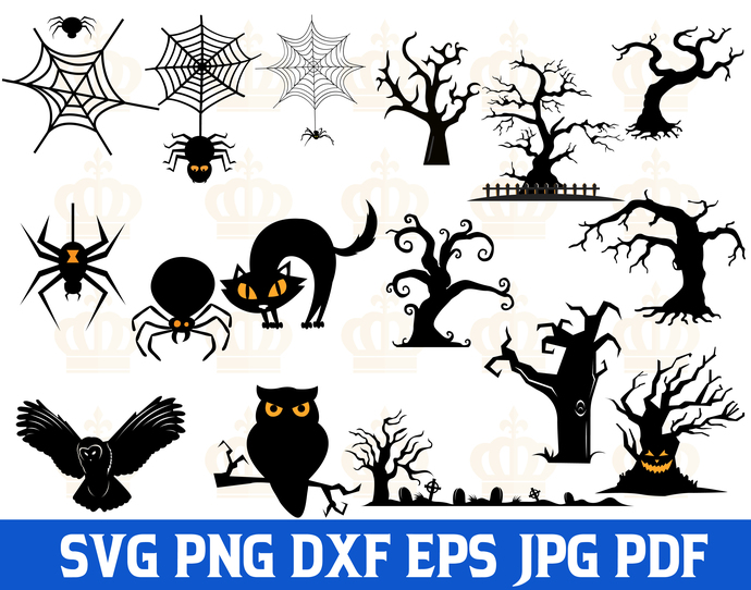 Halloween SVG,Halloween Animals svg,Halloween Ghost svg,Halloween