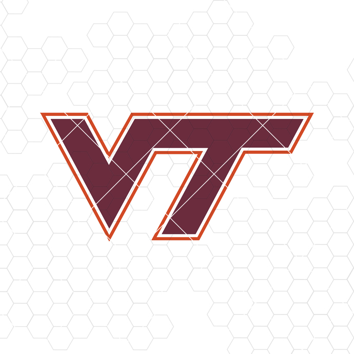 Virginia Tech Digital Cut Files Svg, Dxf, Eps, Png, Cricut Vector, Digital Cut