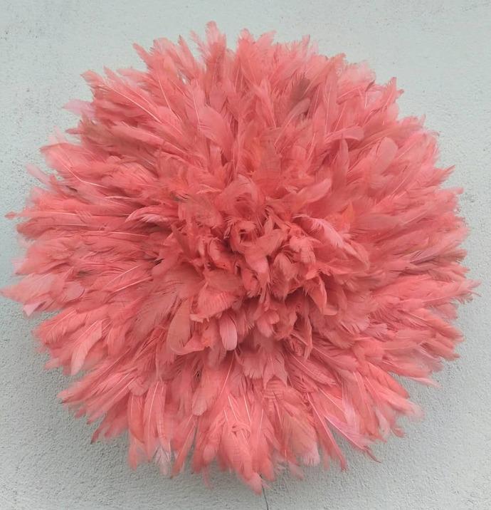 Juju hat pink beige of 50 cm
