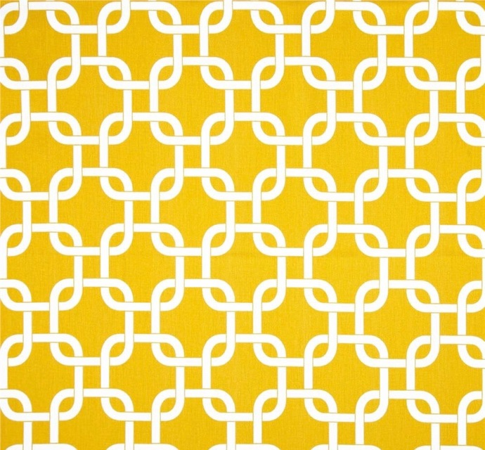 Yellow and white  fabric. fabric by yard. Gotcha  Premier Prints. cotton. Home