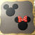 Small Mickey / Minnie with Bow Metal Cutting Dies