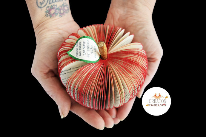 Harry Potter Gift - Personalised Harry Potter gift - Book Art Apple -