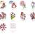 LadyBug Embroidery Applique Designs Combo Set