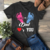Pink or blue Dad loves you,dad gift,new dad svg, new dad gift, new dad shirt,