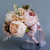 European Ins Vintage Wedding Bridal Bouquet Champagne Artificial Wedding Flowers