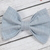 Avery Bow - Fall Collection - Blue Linen