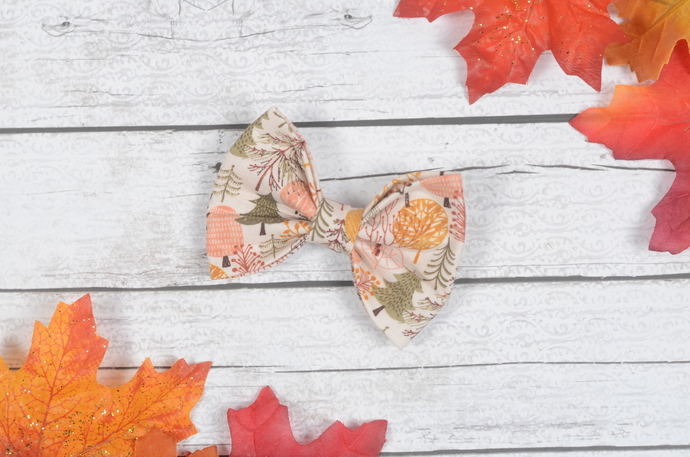 Avery Bow - Fall Collection - Fall Forest