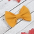 Avery Bow - Fall Collection - Mustard Linen
