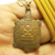 Magic Turtle LP Lew pendant bless in 1991 Thai brass real amulet necklace