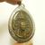 LP Tuad Naga Nak Garuda Thai Buddha pendant blessed in 1960s amulet luang poo