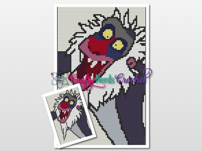 Rafiki Pattern Graph With C2C Written