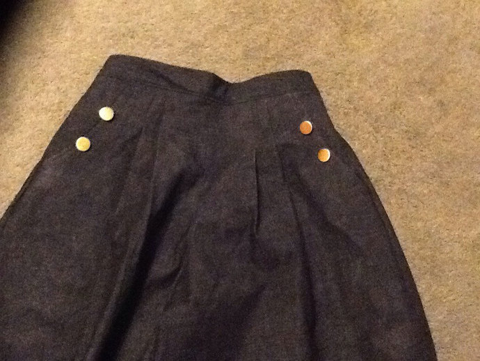 Women's Pleated Culottes