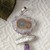 Artisan Crafted Sterling Silver Amethyst Stalactite Pearl Pendant