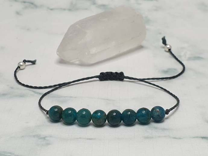 Apatite bracelet | aiding communication + self~expression ~ increases motivation