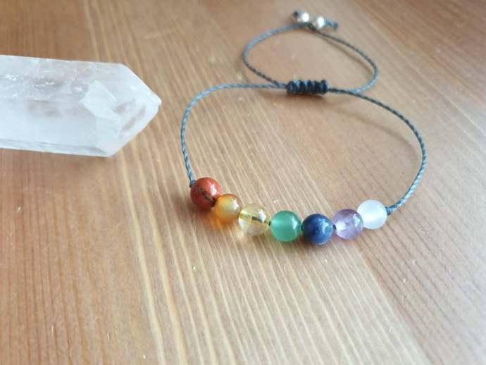 7 Chakra Bracelet - Chakra Jewelry ~ Intention Jewelry ~ Meditation Jewelry ~