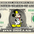 MICKEY MOUSE Doctor on a REAL Dollar Disney Cash Bill Money Collectible