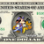 MICKEY MOUSE Halloween on a REAL Dollar Disney Cash Bill Money Collectible