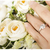 Wedding Bouquet, Artificial Bridal Bouquet, Purple/Blue/Champagne/White Bouquet,