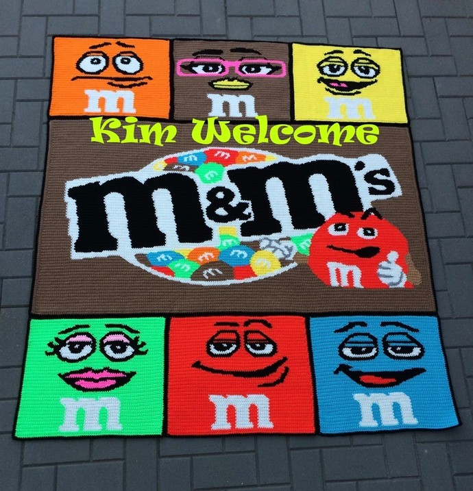 M&M Pattern Bundle - SC & Mini C2C - Graph w/Written - Full Version