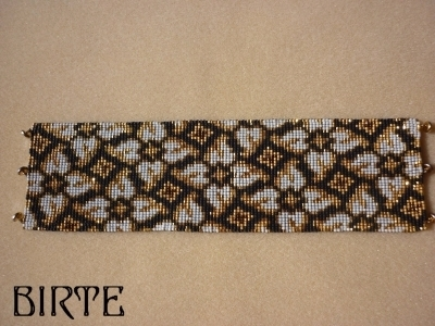 4 Peyote Bead Patterns for 1 Price - 8 Drop Even - Whirlygigs Cuff and Thin