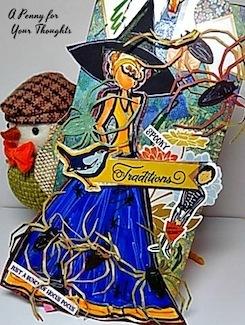 Spooky Tradition Handmade Halloween Tag