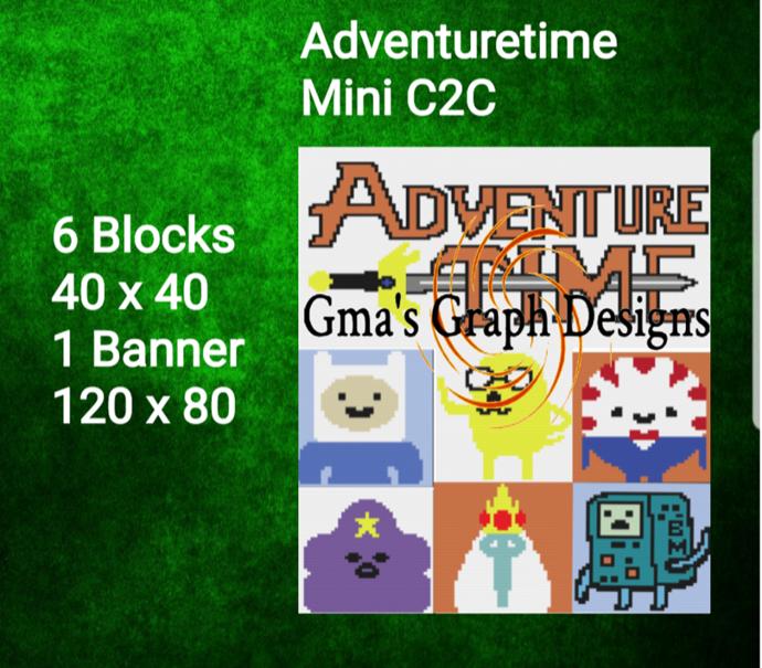 Adventuretime Cal Bundle Mini C2C