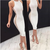 Sexy Ivory Jersey Short Cheap Homecoming Dresses,06