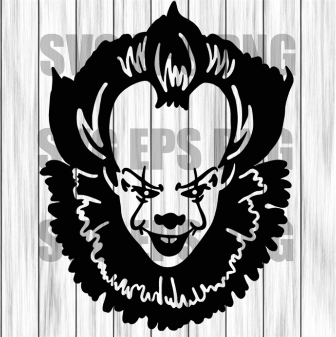Pennywise svg, Pennywise clipart, Pennywise Clown Svg, Pennywise Movie svg,