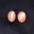Peach Pink Moonstone 12 x 16 MM Round cabochon Semi Precious Loose Gemstone