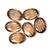 Smoky Quartz Oval Carved Cabochon 18 x 13 mm Flawless Loose Gemstone