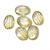 Lemon Quartz Oval Carved Cabochon 18 x 13 mm Flawless Loose Gemstone