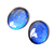 Natural Labradorite 10 X 12 mm Oval Blue Flashy High Quality Loose Gemstone