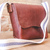 Leather Purse - Christmas Gift - Crossbody Bag - Ladies Purse - Bison Leather