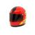Coca Cola Mini Metal Motorcycle Helmet Clock - Displayed - Tested Works