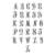 Custom Monogram Initials - Vinyl Decal - Great for Yeti Cups, Tumblers, School