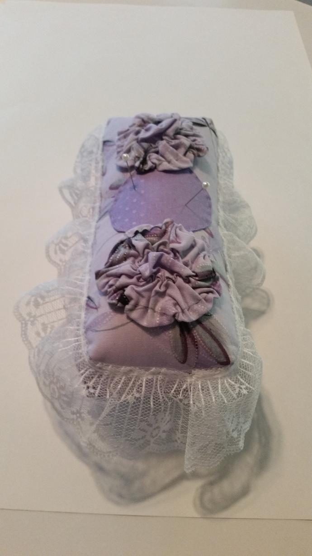 Purple Victorian-inspired Feminine Pin Cushion