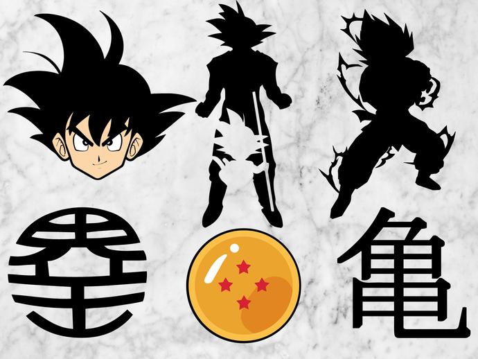 Dragon ball SVG files,Dragon ball cut files, Dragon ball clipart, eps vectors,