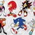 Sonic the hedgehog SVG files,  Sonic svgcut files, clipart, eps vectors, dxf