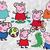 Peppa pig SVG files,  Peppa pig svg cut files, clipart, eps, dxf files for