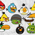Angry birds SVG files, Angry birds cut files, clipart, eps, dxf files for