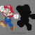 Super Mario bros SVG files, Mario svg cut files, clipart, eps, dxf files for