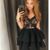 Little Black Dress Cheap Homecoming Dresses A-line Short Prom Dress Party