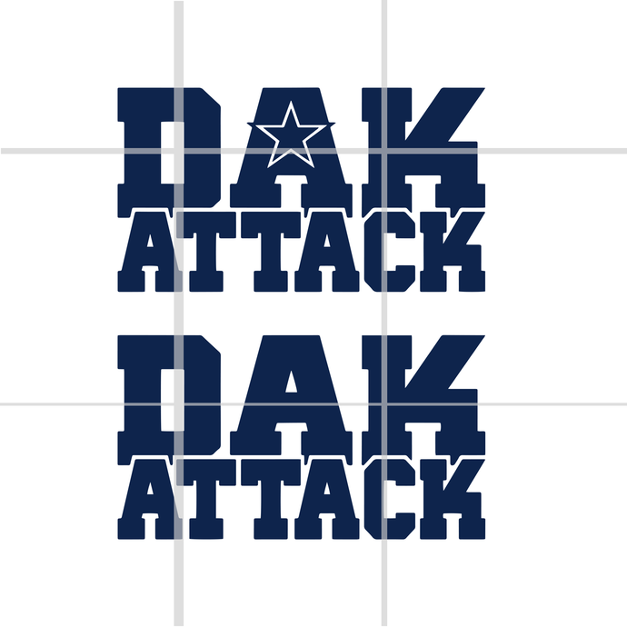 Dak attack svg,Dak attack Cowboys svg, dallas cowboy svg, cowboy svg,dallas
