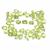 Arizona Peridot Faceted 4 x 3 mm Oval Semi Precious Flawless Loose Gemstone